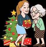 Weihnachts-Geschenk für Oma