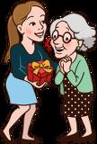 Geschenk für Oma