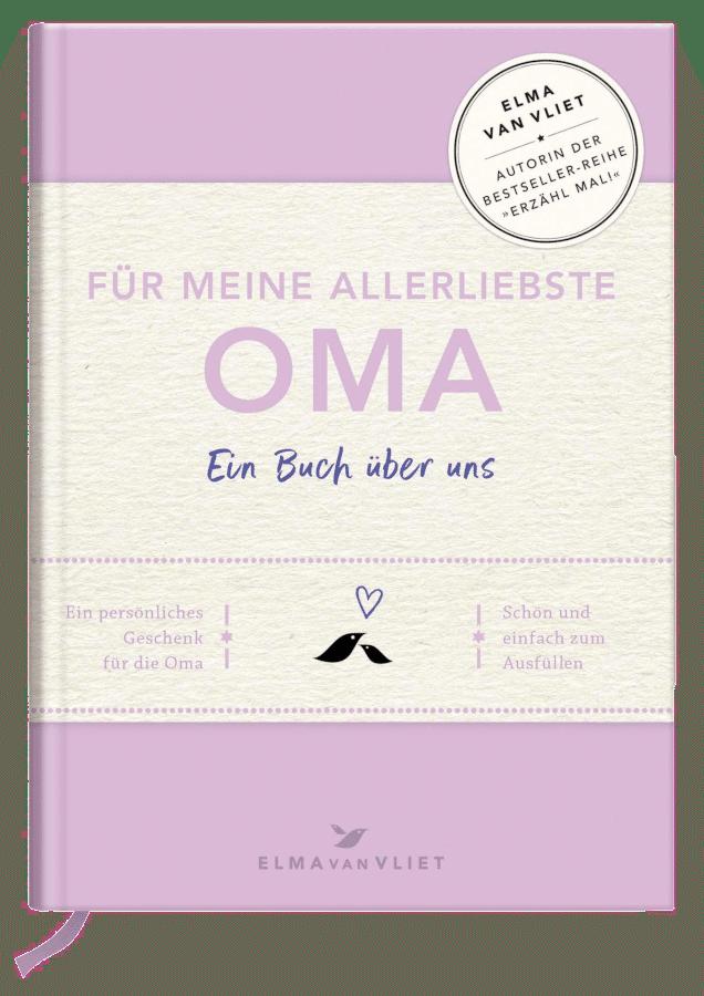 Geschenk für Oma zum 65. Geburtstag - Eintragbuch