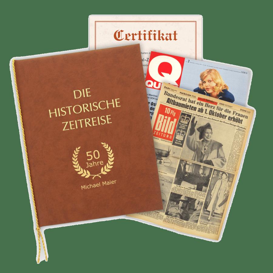 Geschenk für Omas Geburtstag - Historische Zeitschriften