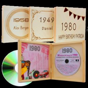 Geschenk für Omas Geburtstag - Jahrgangsmusik CD