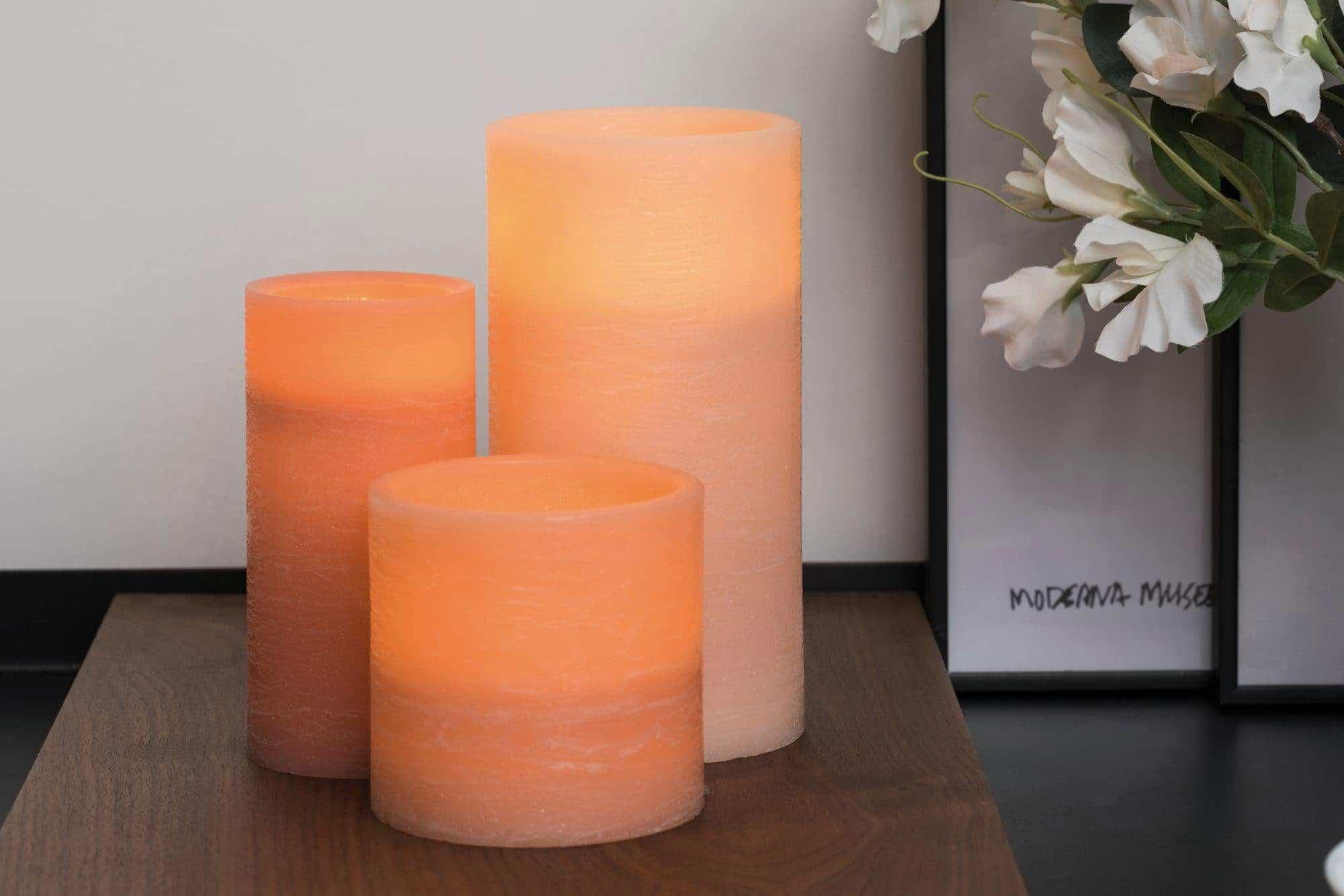 Geschenk für eine ältere Großmutter - LED Kerzen