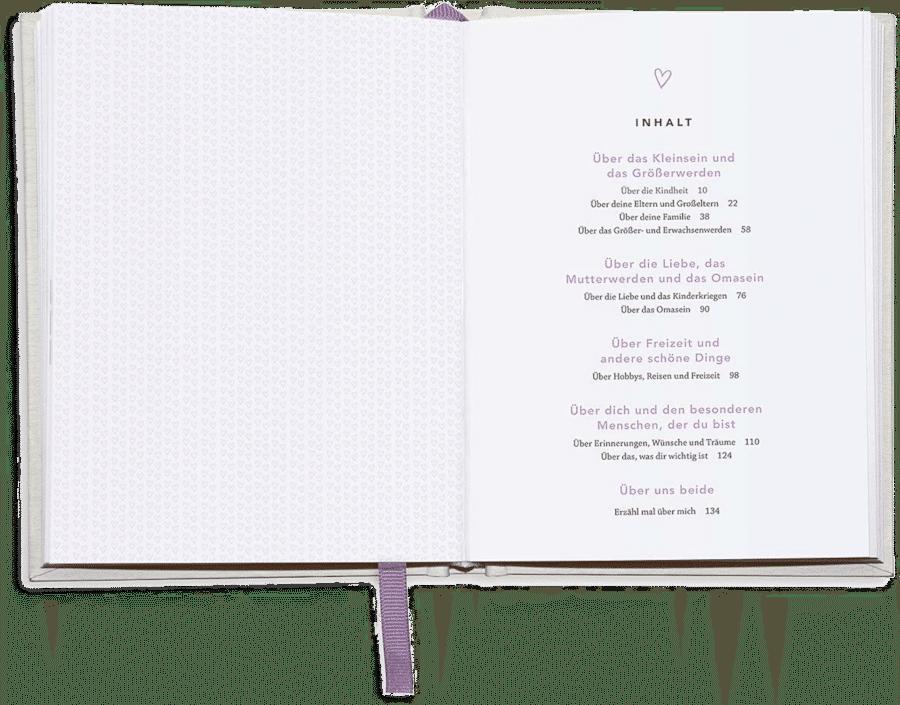 Geschenkbuch für Oma - Erinnerungsbuch