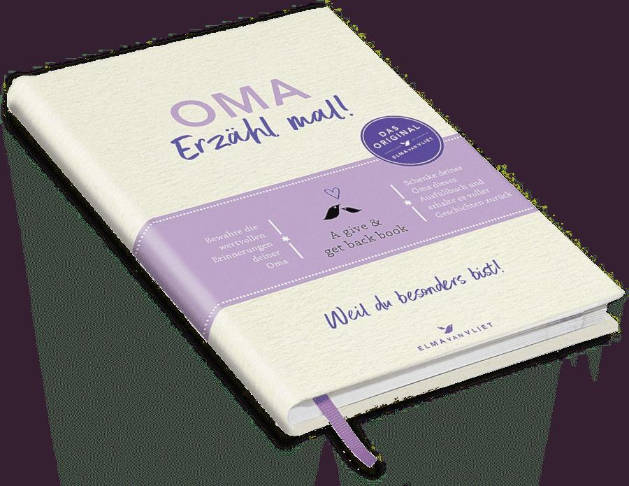 Geschenkbuch für Oma - Oma, erzähl mal