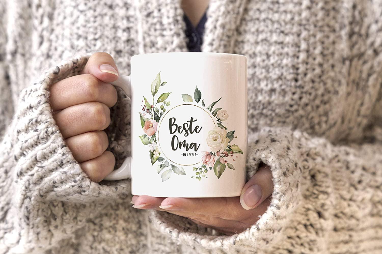 Geschenkidee für Oma - Kaffee-tasse
