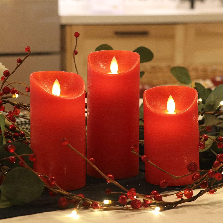 LED-Kerzen - Geschenk für ältere Menschen