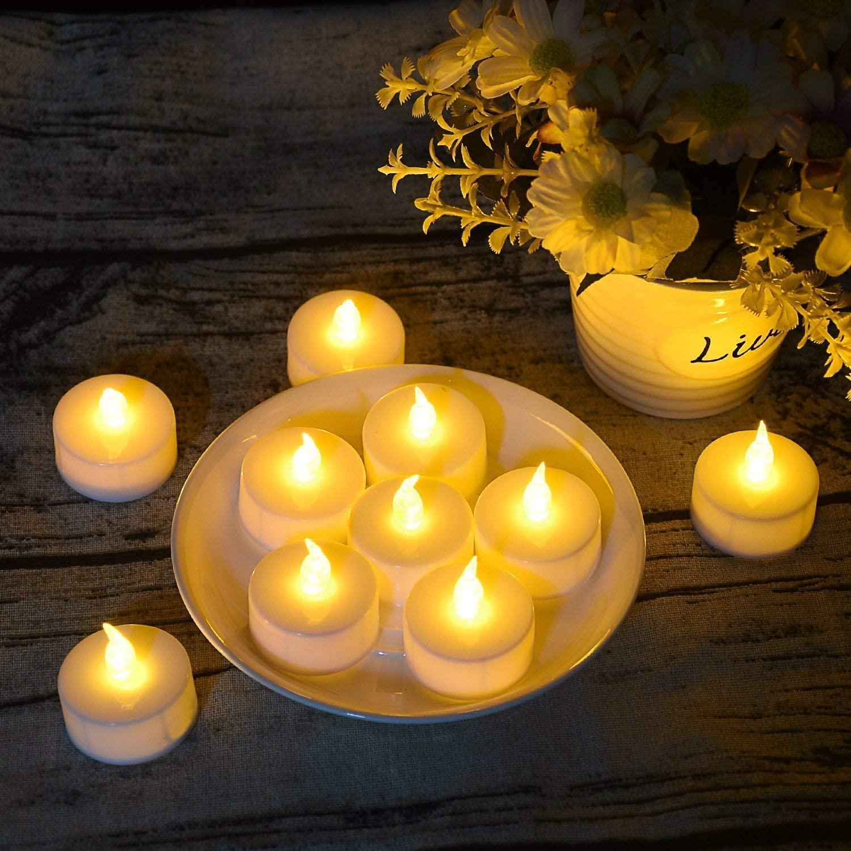 LED Teelichter - Geschenk Senioren