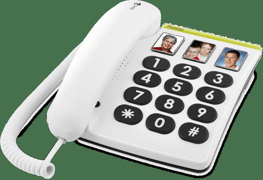 Seniorentelefoon Direktwahl-Fototasten