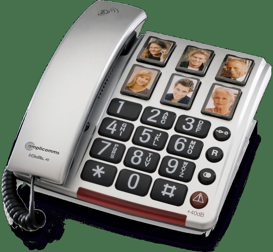 Telefon mit großen Tasten - Geschenk für Oma