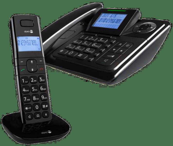 Telefon mit großen Tasten - Seniorentelefon schnurlos