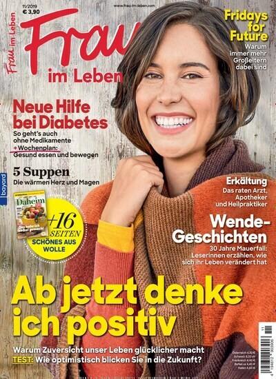 Zeitschrift für eine ältere Frau