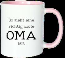 Geschenkidee für Oma - Tasse Oma