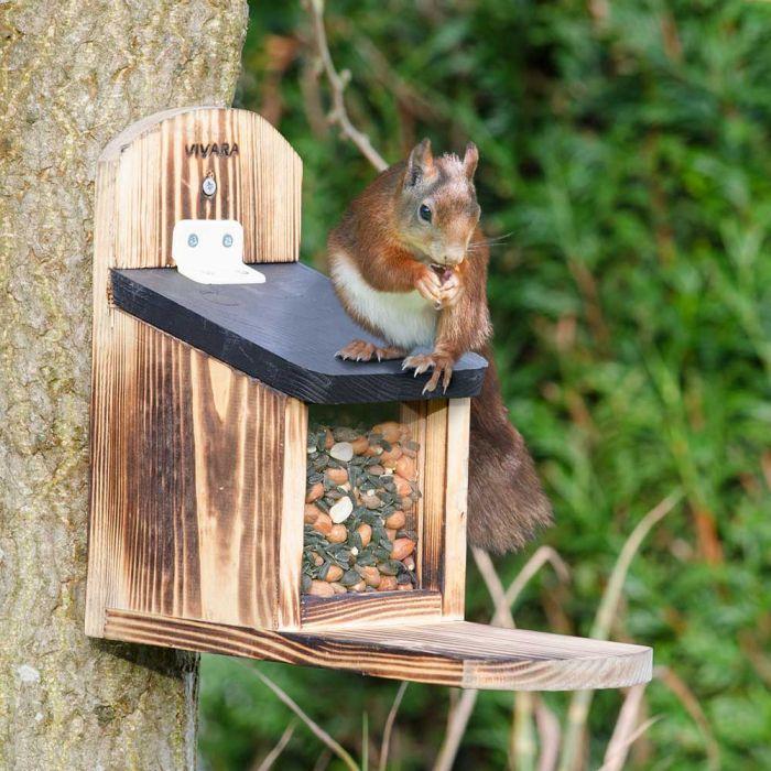 Eichhörnchen Futterhaus- Geschenk für Oma