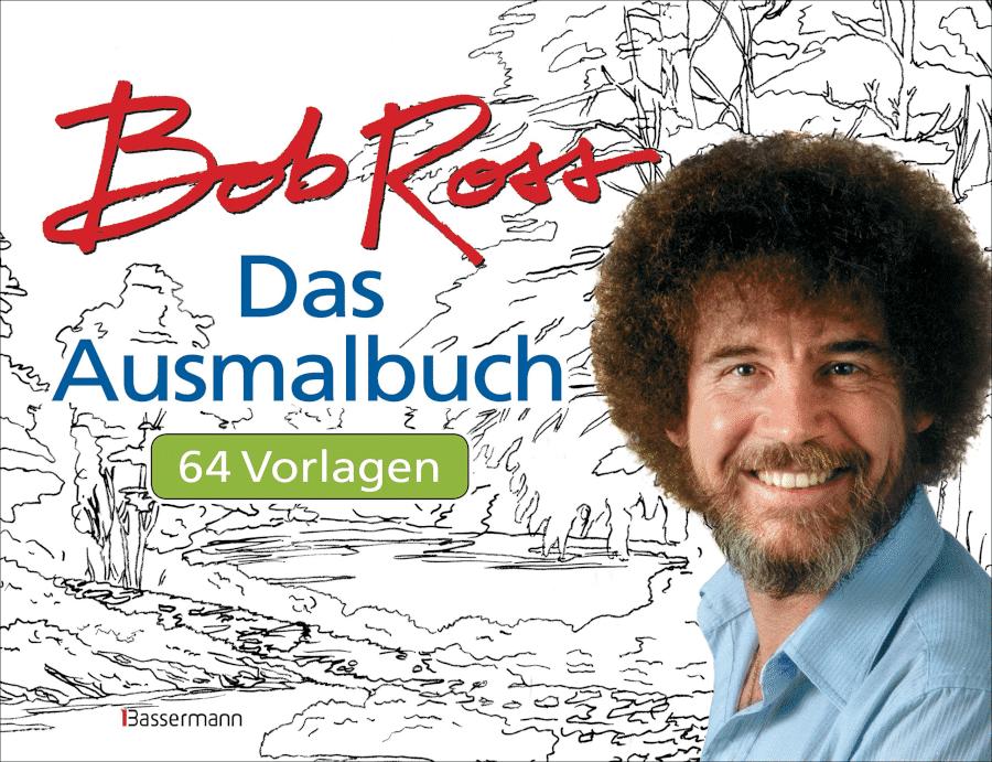 Malbuch für Erwachsene - Bob Ross