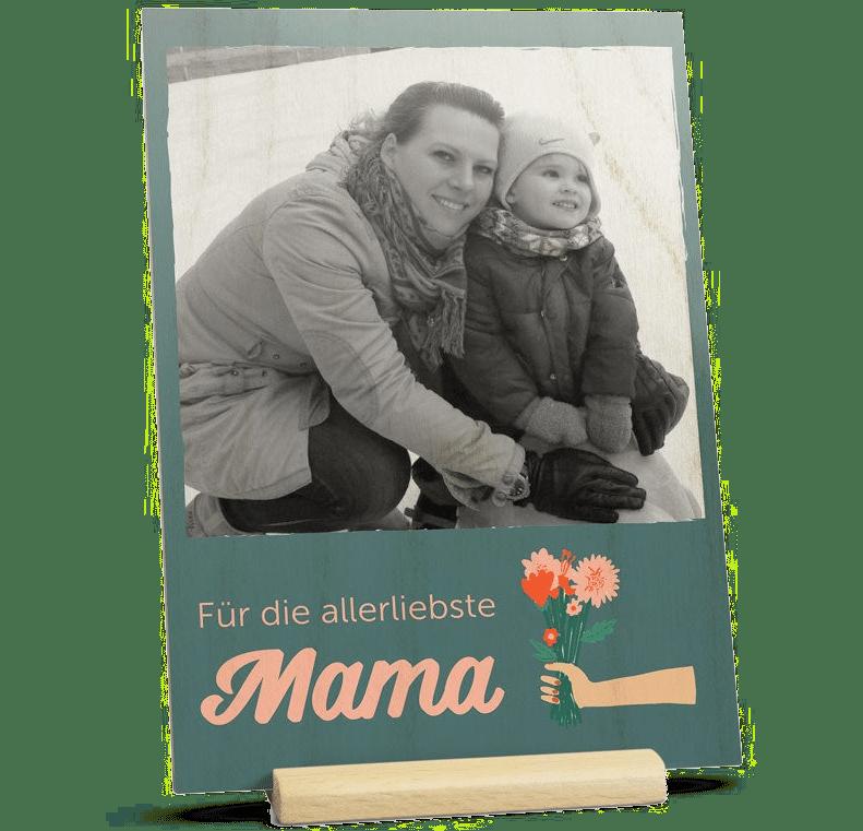 Muttertagsgeschenk für Oma - Muttertagskarte