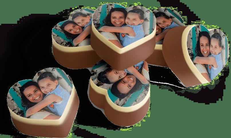 Muttertagsgeschenk für Oma - Pralinen mit Foto