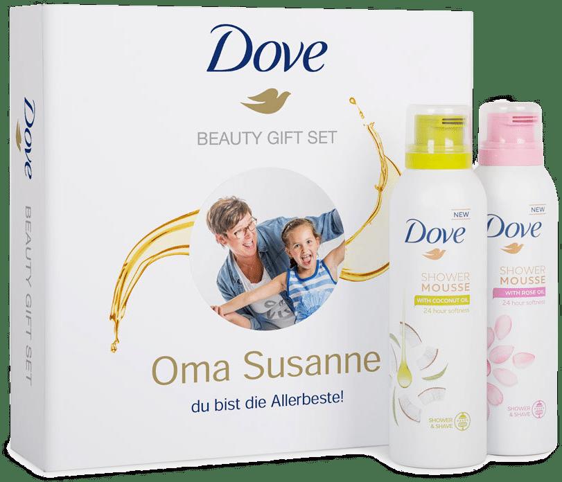 Muttertagsgeschenke für Oma - Geschenkset mit Duschschaum