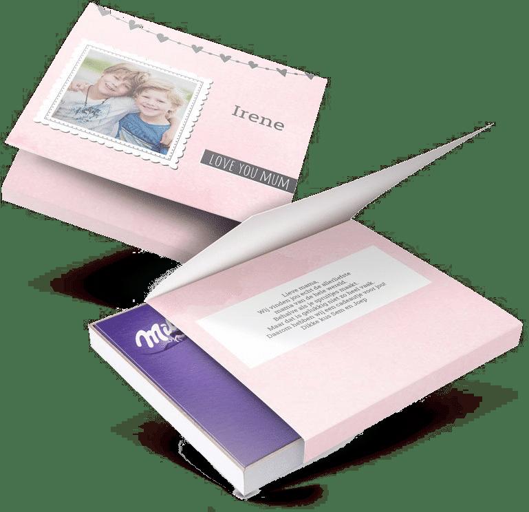 Muttertagsgeschenk - Milka Schokolade