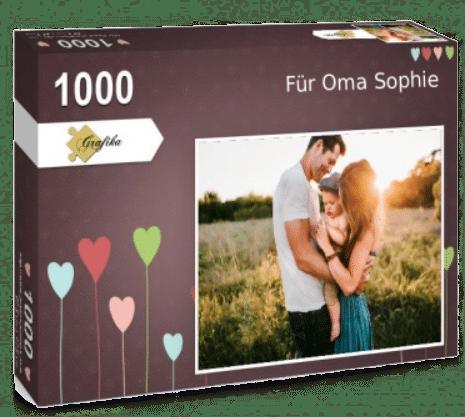 Fotopuzzle - Geschenk für Oma