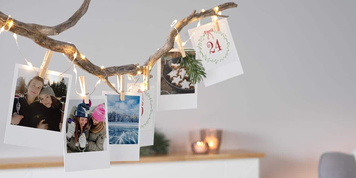 Adventskalender fotos - Geschenk für Oma Mutter