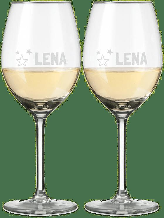 Weihnachtsgeschenke für Oma - Weinglas mit Gravur