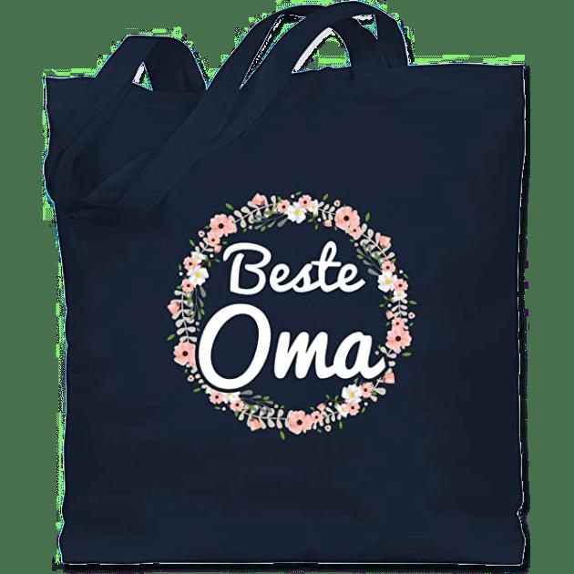 Geburtstagsgeschenk für Oma - Jutebeutel