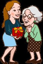 Geburtstaggeschenk für Oma