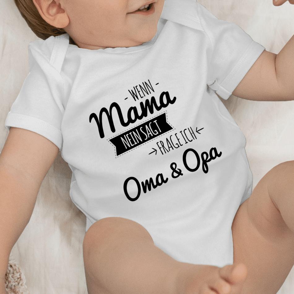 Baby body Oma Opa - Schwangerschaft zu verkünden