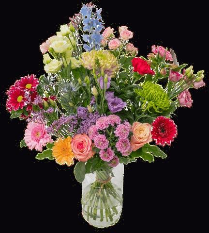 Blumenstrauß - geschenk oma 70 Jahren