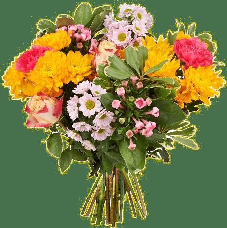 Muttertagsgeschenk - Blumenstrauß