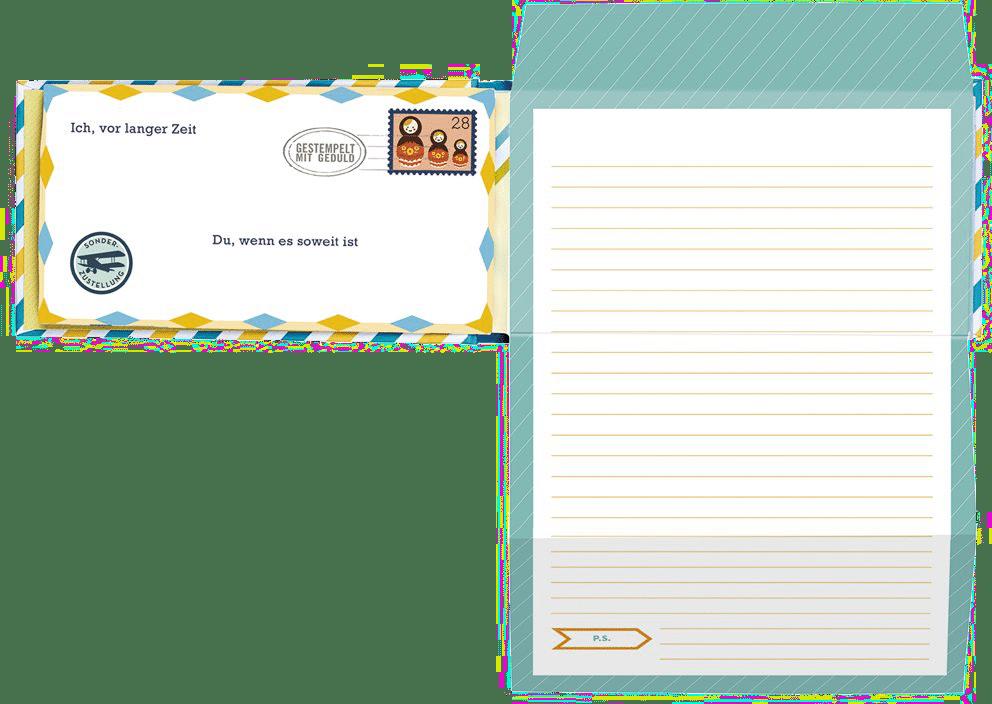 Briefe an mein Enkelkind - Ein originelles Geschenk für zukünftige Großeltern