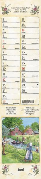Bauernkalender - Kalender für Großeltern