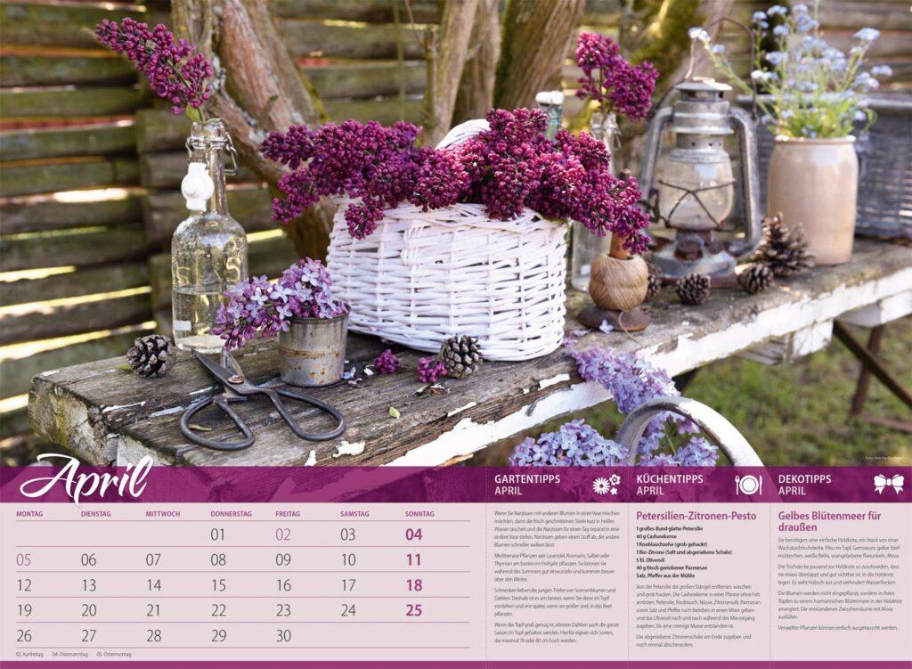 Gartenkalender