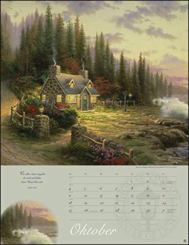Geschenk für Oma - Land im Licht Kalender