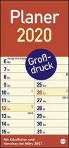 Kalender mit extra großen Zahlen und Buchstaben - Geschenk Oma