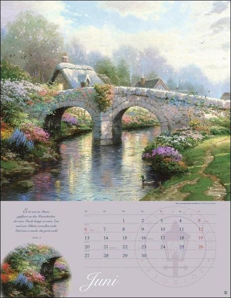Land im Licht Kalender - Kalender für Oma