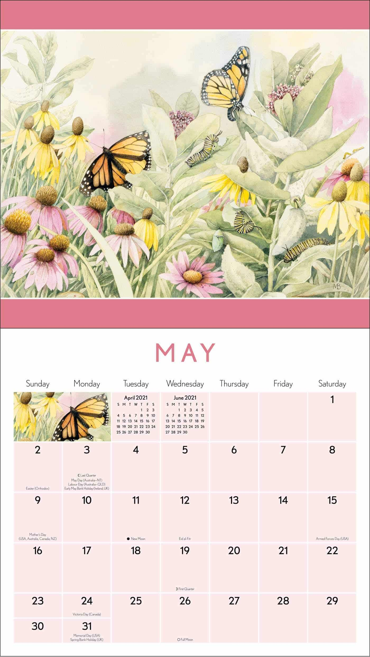 Marjolein Bastin - Kalender für Oma