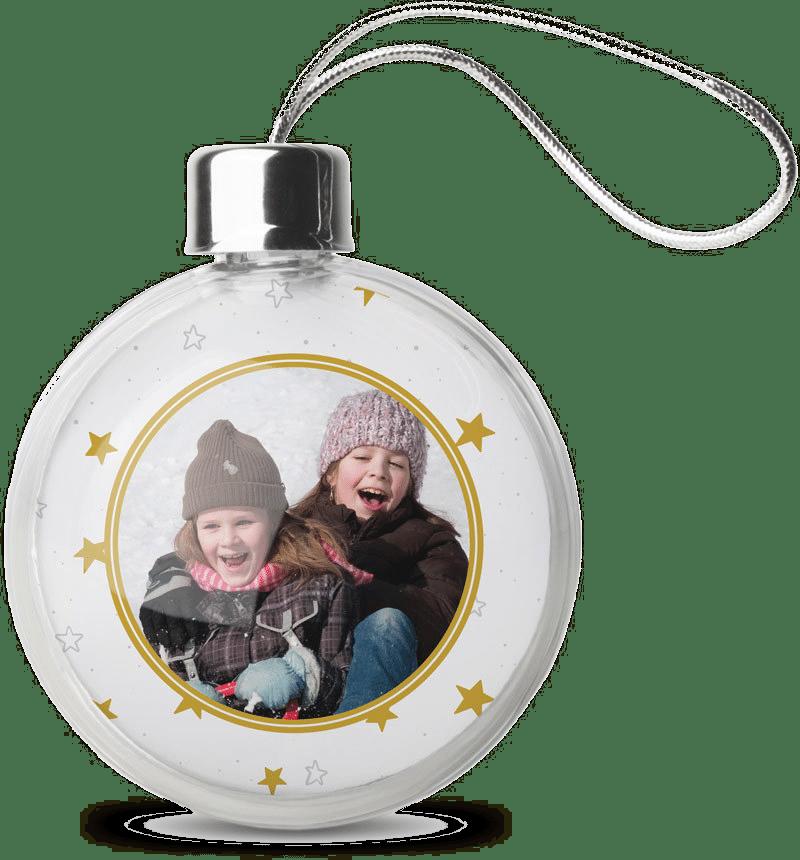 Weihnachtskugeln mit Foto