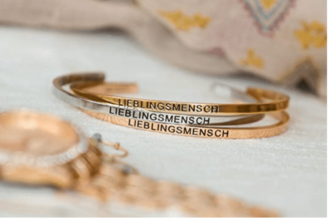 Armband Lieblingsmensch - Weihnachtsgeschenk Oma