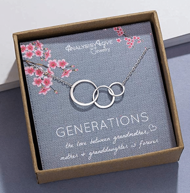Halskette für Oma - Geschenk für eine Oma von 65 Jahren