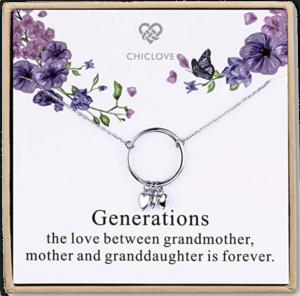 Schmuckstück für Oma- Generation Halskette