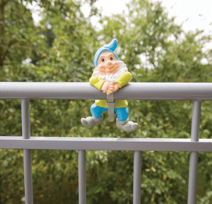 Geschenk für Oma zum 80. Geburtstag - Balkon deko Balkonzwerg