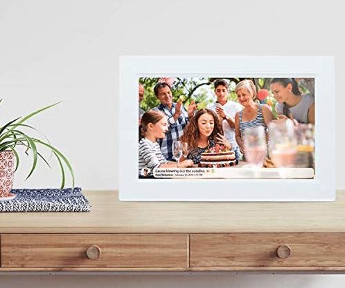 Digitaler Bilderrahmen Frameo - Geschenk für Oma