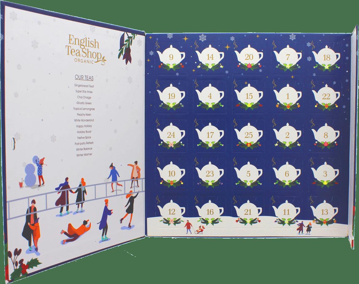 Adventskalender für Frauen - Geschenk für Oma - Tee-Adventskalender