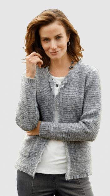 Kleidung für ältere Damen - Strickjacke