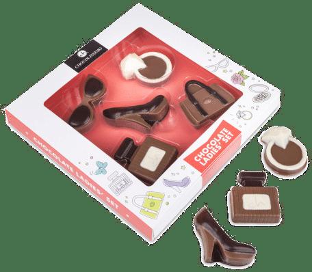Geschenk für eine Frau zum 70. Geburtstag - Schokolade