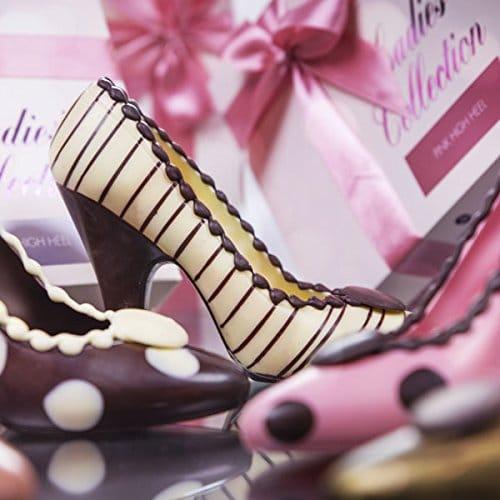 Schokoladen Geschenke - Pumps schokolade