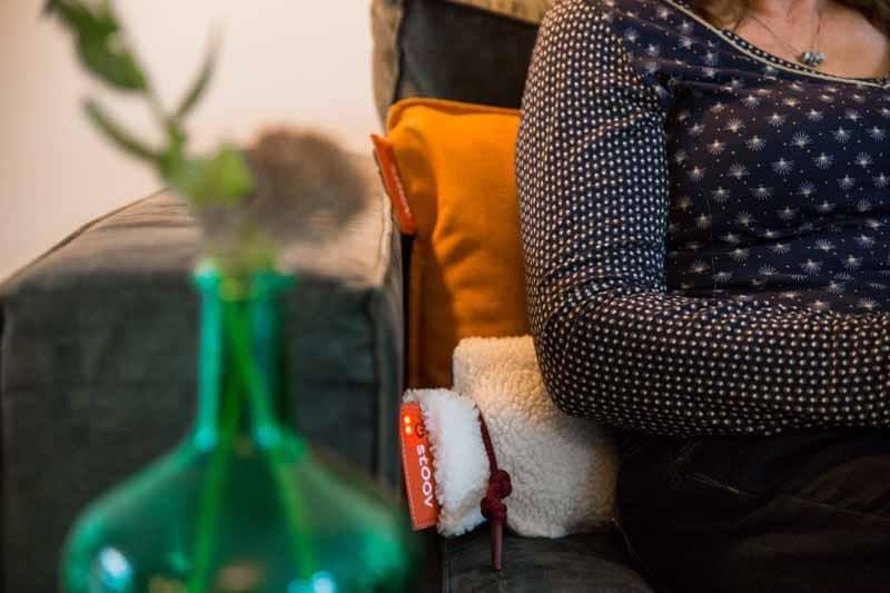 sichere Wärmflasche Infrarot - Geschenk für eine Frau von 90 Jahren
