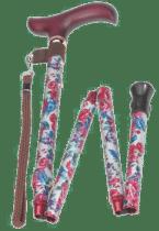 Gehstock Blumendesign - Geschenk für Oma
