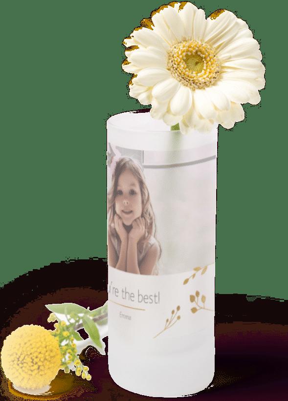 Geschenk für Oma von enkeln - Mini Vase gestalten